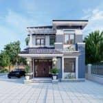 Mẫu Biệt Thự Hiện Đại Đẹp Năm 2020 Tại Nam Định