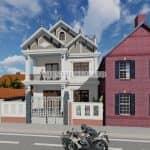 Mẫu Biệt Thự Hiện Đại Đẹp Tại Thuận Thành Bắc Ninh