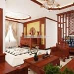 Phòng Khách Kết Hợp Phòng Thờ Ở Bắc Ninh