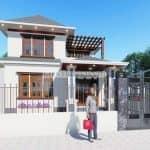 Mẫu Biệt Thự Hiện Đại 2 Tầng Ở Vũ Thư, Thái Bình