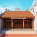 Cực Phẩm Mẫu Từ Đường 3 Gian 81m2 Tại Bắc Ninh Năm 2020