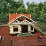 Mẫu Nhà Cấp 4 Mái Thái Thịnh Hành Nhất Năm 2020 Tại Sơn La