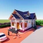 Mẫu Thiết Kế Nhà Cấp 4 Mái Thái Đẳng Cấp 2020 Tại Thanh Hóa