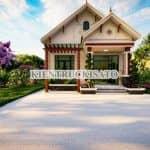 Mẫu Nhà Cấp 4 Mái Thái Trẻ Trung Cuốn Hút Tại Hà Nội