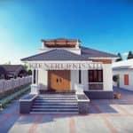 Mẫu Nhà Cấp 4 Đơn Giản Đẹp Mắt Năm 2020 Tại Bắc Giang