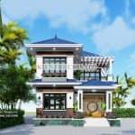 Ngắm Nhìn Mẫu Biệt Thự Mái Nhật Sang Trọng Tại Quảng Ninh