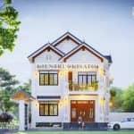 Đã Mắt Mẫu Biệt Thự 2 Tầng Mái Thái 165m2 Tại Nam Định