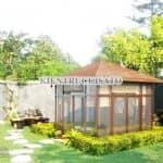 Mãn Nhãn Mẫu Thiết Kế Sân Vườn Xanh Mát Tại Nam Định