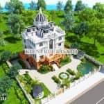 Mê Đắm Mẫu Sân Vườn Lâu Đài Đẹp Tại Bắc Ninh