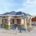 Ấn Tượng Mẫu Nhà Cấp 4 Đẹp 200 m2 Tại Hiệp Hòa Bắc Giang