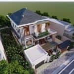 CHẤT Với Mẫu Biệt Thự Hiện Đại Đẹp Đẳng Cấp Tại Sóc Sơn Hà Nội