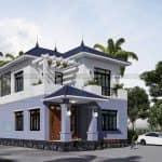 Đáng Xem Mẫu Biệt Thự 2 Tầng Hiện Đại Đẹp Tại Thuận Thành Bắc Ninh