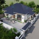Đáng Xem Mẫu Nhà Cấp 4 Đẹp Giá Rẻ Tại Tam Đảo Vĩnh Phúc