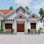 Xem Mẫu Nhà Cấp 4 Đẹp Hoàn Hảo Tại Lập Thạch Vĩnh Phúc