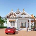 Giật Mình Với Mẫu Nhà Cấp 4 Đẹp Tại Phú Xuyên Hà Nội