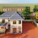 Mẫu Biệt Thự 2 Tầng Đẹp Tại Giao Thủy Nam Định