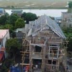 Mẫu Biệt Thự 2 Tầng Đẹp Như Mơ Do Kisato Thiết Kế Tại Hà Nam