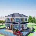 Mẫu Biệt Thự 2 Tầng Đẹp Tại Chu Hóa Việt Trì