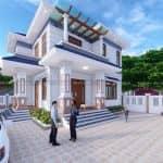 Đắm Say Mẫu Biệt Thự 2 Tầng Đẹp Tại Đông Triều Quảng Ninh