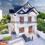 Mẫu Biệt Thự 2 Tầng Đẹp Như Mơ Tại Thường Tín Hà Nội