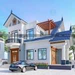Cả Nhà Mất Ngủ Với Mẫu Biệt Thự 2 Tầng Đẹp Tại Cẩm Xuyên Hà Tĩnh