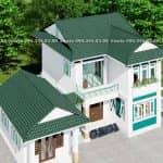 Mẫu Biệt Thự 2 Tầng Hiện Đại Đẹp Tại Mỹ Lộc Nam Định