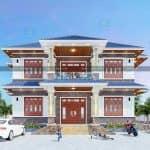 Ấn Tượng Với Mẫu Biệt Thự 2 Tầng Đẹp Tại Yên Khánh Ninh Bình