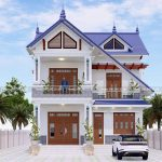 Mẫu Biệt Thự 2 Tầng Đẹp 240m2 Tại Quảng Ninh Quảng Bình