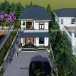 Mẫu Biệt Thự 2 Tầng Hiện Đại Đẹp Tại Thuận Thành Bắc Ninh