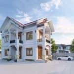 Mẫu Biệt Thự 2 Tầng Hiện Đại Đẹp Tại Xuân Trường Nam Định