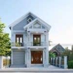 Ấn Tượng Với Mẫu Biệt Thự 2 Tầng Hiện Đại Đẹp Tại Nam Định