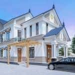 Xao Xuyến Với Mẫu Biệt Thự 2 Tầng Hiện Đại Đẹp Tại Bình Thuận