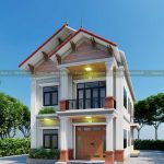 Cả Làng Kéo Nhau Đi Xem Mẫu Biệt Thự 2 Tầng Hiện Đại Đẹp Tại Hà Nội