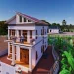 Mẫu Biệt Thự 2 Tầng Hiện Đại Đẹp Tại Đông Hưng Thái Bình