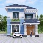 Mẫu Biệt Thự 2 Tầng Hiện Đại Đẹp Tại Hưng Hà Thái Bình