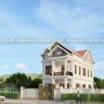 Mẫu Biệt Thự 2 Tầng Mái Thái Đẹp 190 m2 Tại Hải Hậu Nam Định