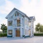 Hút Hồn Với Mẫu Biệt Thự 2 Tầng Mái Thái Đẹp Tại Nam Định