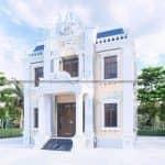 Xao Xuyến Với Mẫu Biệt Thự 2 Tầng Tân Cổ Đẹp Tại Phú Xuyên Hà Nội
