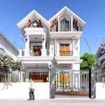 Mẫu Biệt Thự Đẹp 2 Tầng Tân Cổ Điển Tại Ý Yên Nam Định