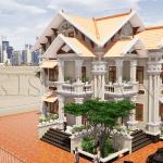 Mẫu Biệt Thự Đẹp Mái Thái 2 Tầng Đẹp Tại Giao Thủy, Nam Định