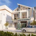 Mẫu Biệt Thự 2 Tầng Hiện Đại Đẹp 180 m2 Tại Nam Định