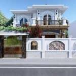 Mẫu Biệt Thự Tân Cổ Điển 2 Tầng Đẹp Tại Móng Cái Quảng Ninh