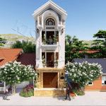 Mẫu Biệt Thự Tân Cổ Điển 3 Tầng Đẹp Tại Việt Yên Bắc Giang