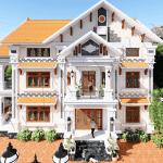 Mẫu Biệt Thự Tân Cổ Điển 3 Tầng Tại Đông Hưng, Thái Bình