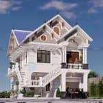 Mẫu Biệt Thự Tân Cổ Điển Đẹp Tại Biên Hòa Đồng Nai