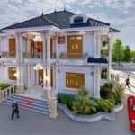 Mẫu Biệt Thự Tân Cổ Điển Đẹp Tại Thái Thụy Thái Bình