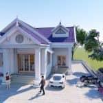 Mẫu Nhà Cấp 4 Đẹp 145m2 Giá 1.3 Tỷ Tại Bắc Giang Do Kisato Thiết Kế