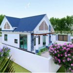 Mẫu Nhà Cấp 4 Đẹp 120 m2 Tại Cam Lâm Khánh Hòa
