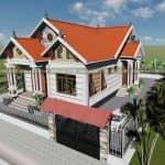 Mẫu Nhà Cấp 4 Đẹp 120 m2 Tại Kim Bảng Hà Nam
