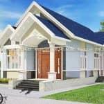 Mẫu Nhà Cấp 4 Đẹp 120 m2 Tại Hồng Lĩnh Hà Tĩnh